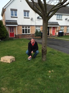 MIDDLESBROUGH FANZINE EDITOR ROB NICHOLS ON THE PENALTY SPOT OF THE OLD AYRESOME PARK2