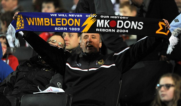 MK Dons v Colchester United - npower League One