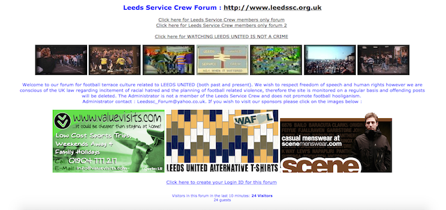 Screengrab via Leeds Service Crew forum